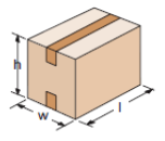 Dimensions des cartons
